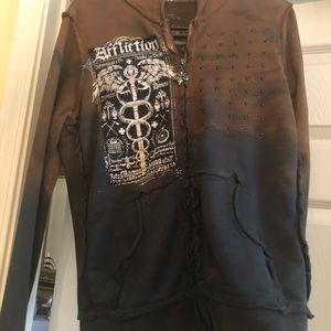 Affliction jacket size L